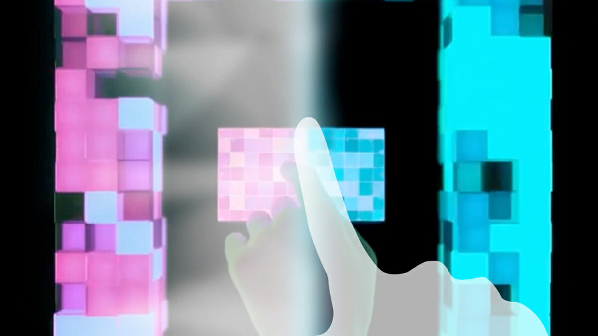 スワイプすることで動画の色やカメラアングルをVJ感覚で変更できる、最新型ミュージックビデオ