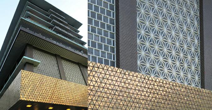 ホテルオークラ東京 旧本館 ファサード・タイル・ボックス (4)
