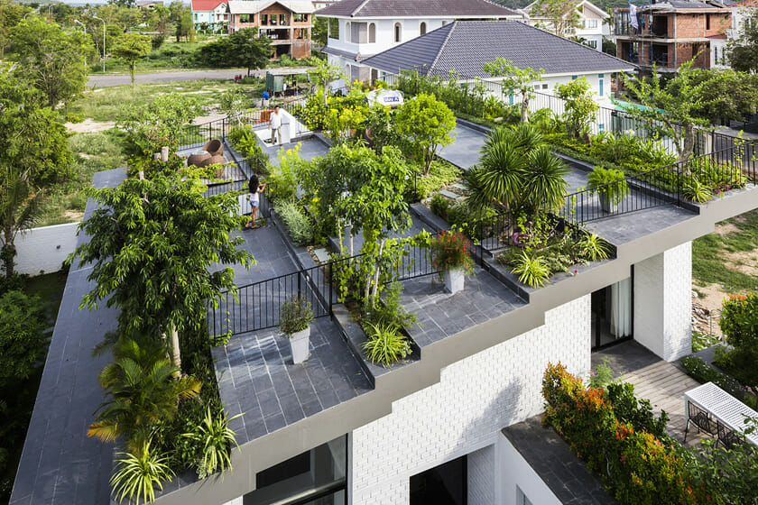 ニャチャンの住宅 | 空間デザイン事例 | デザイン情報サイト[JDN]