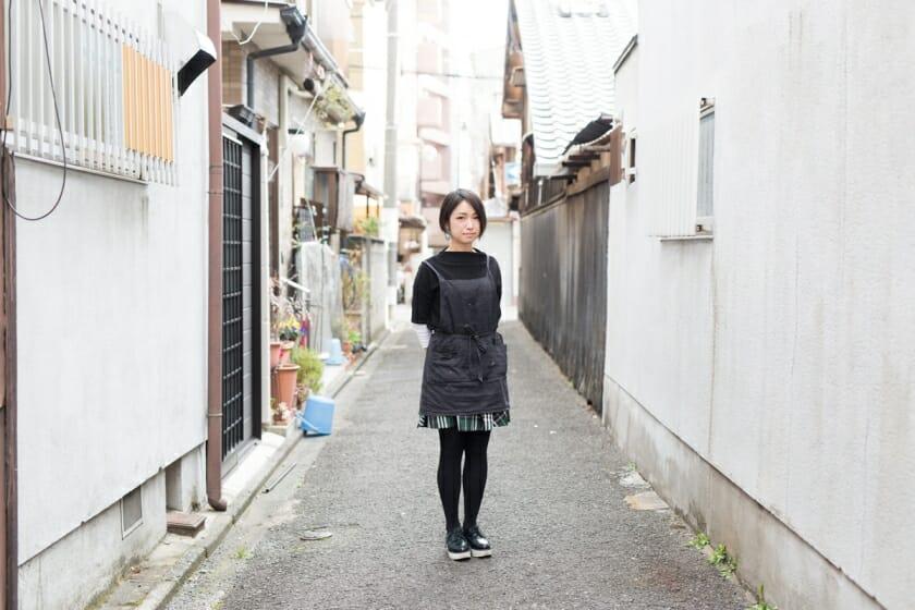 京都の気候や香り、街全体がインスピレーション-手描友禅作家・眞鍋沙智(2)