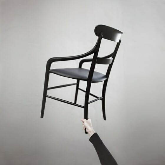 Chiavari chair by Kensaku Oshiro