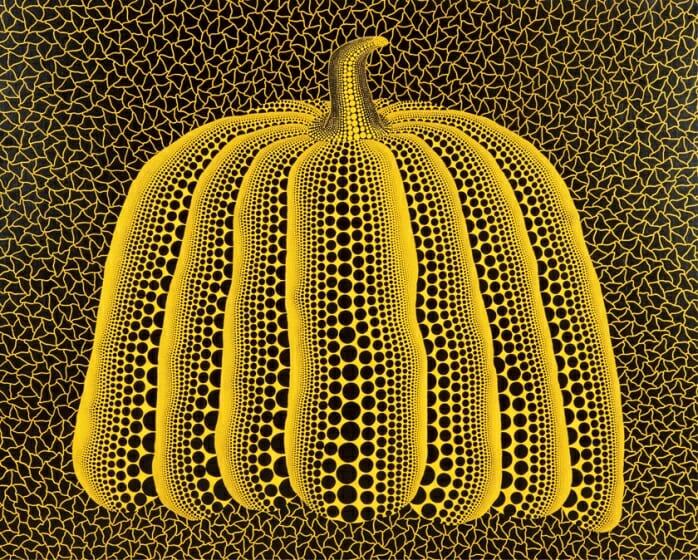 草間彌生《かぼちゃ》1990 高橋コレクション ©YAYOI KUSAMA