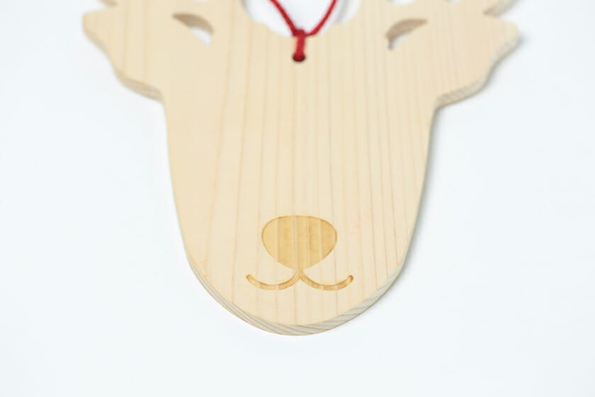 鹿絵馬 (2)