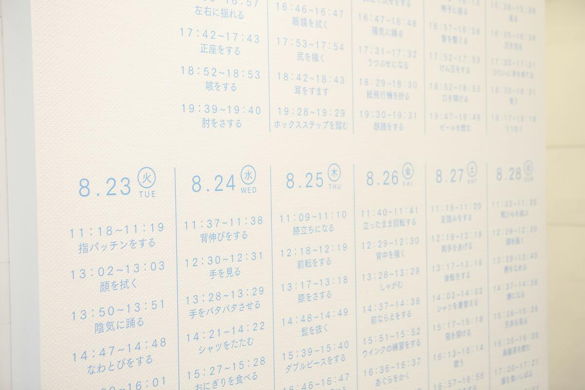 一分間の事象 (6)