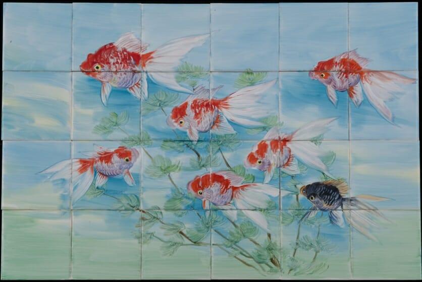 廣美陶房(岩井孝之)<金魚> 廣美陶房蔵