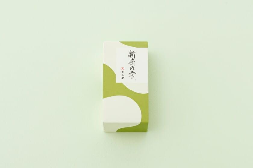 とらや季節の羊羹「新茶の雫」 (1)