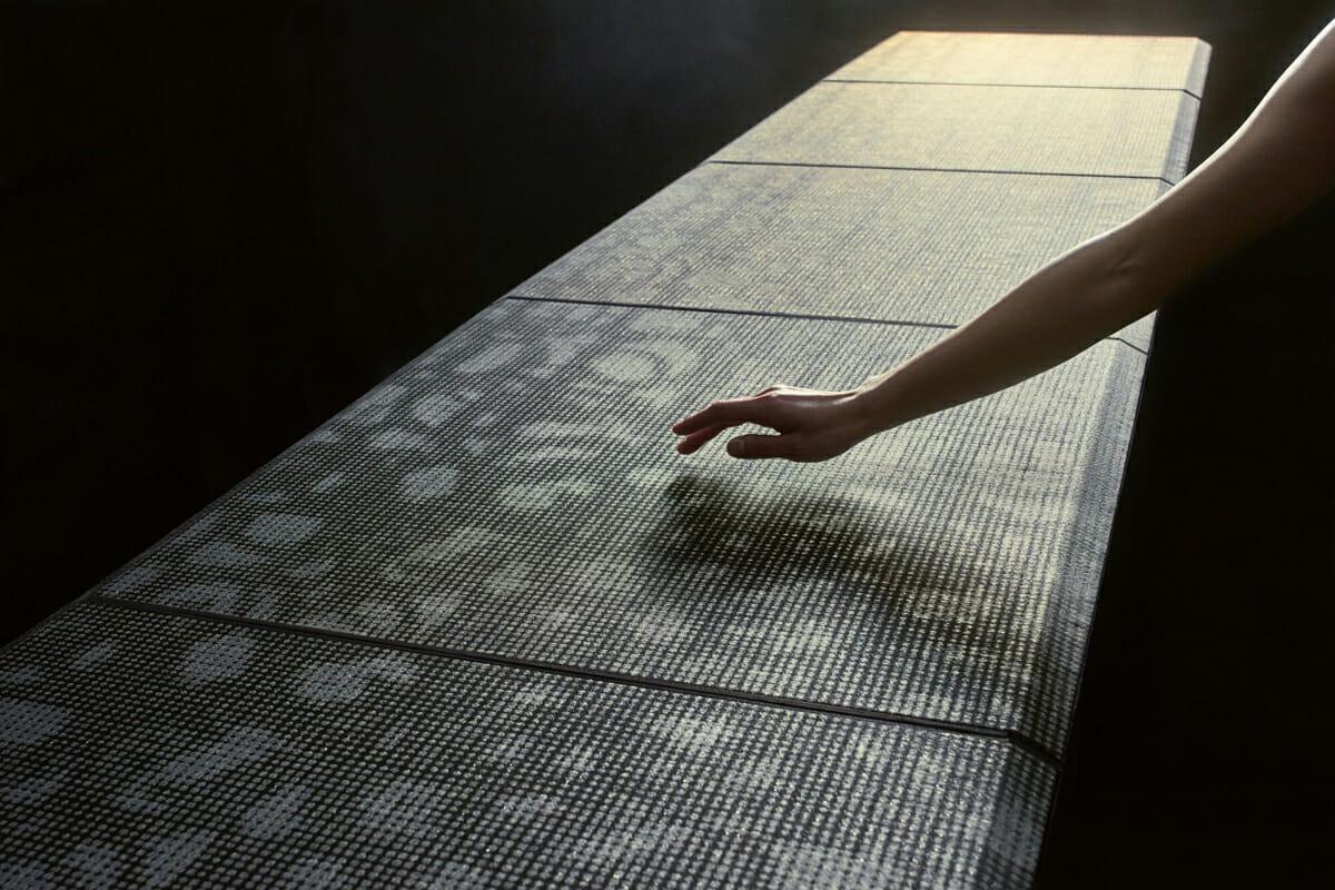 織ノ響/西陣織でできたスピーカー