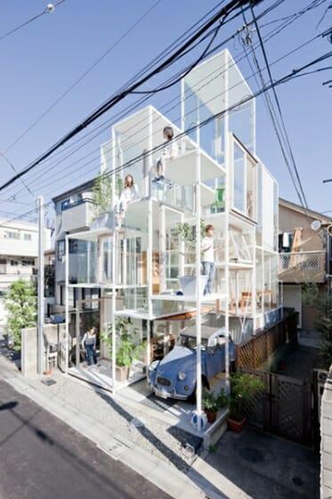藤本壮介 House NA(2011) Ⓒ Iwan Baan