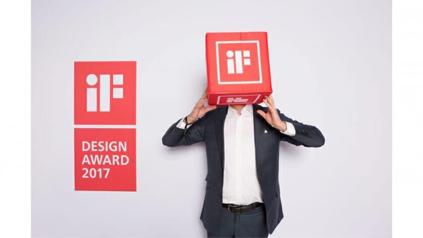iFデザイン賞のトークイベントにて、代表ラルフ・ウィーグマンさんと共に登壇