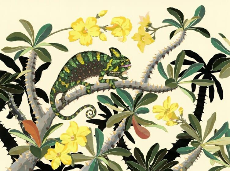 今森光彦 自然と暮らす切り紙の世界