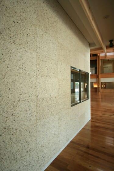 梼原町総合庁舎 和蘭紙の壁