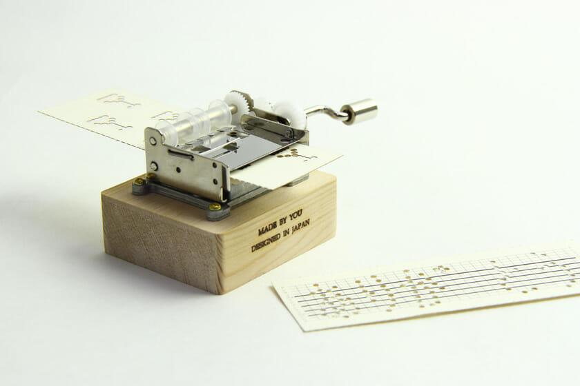 紙巻きオルゴール「paper tunes」