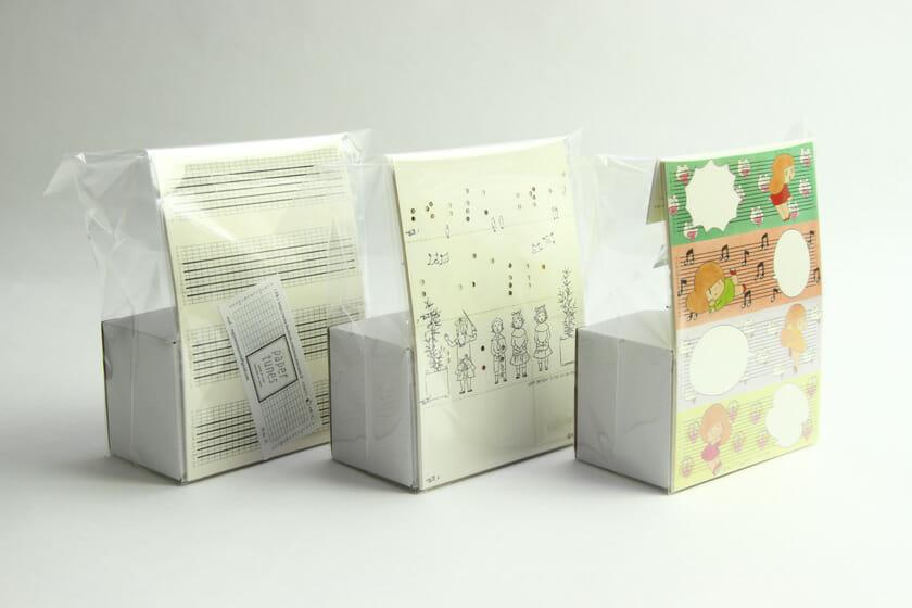 紙巻きオルゴール「paper tunes」 (3)