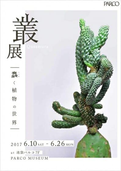 叢 – Qusamura 展 ~蠢く植物の世界~