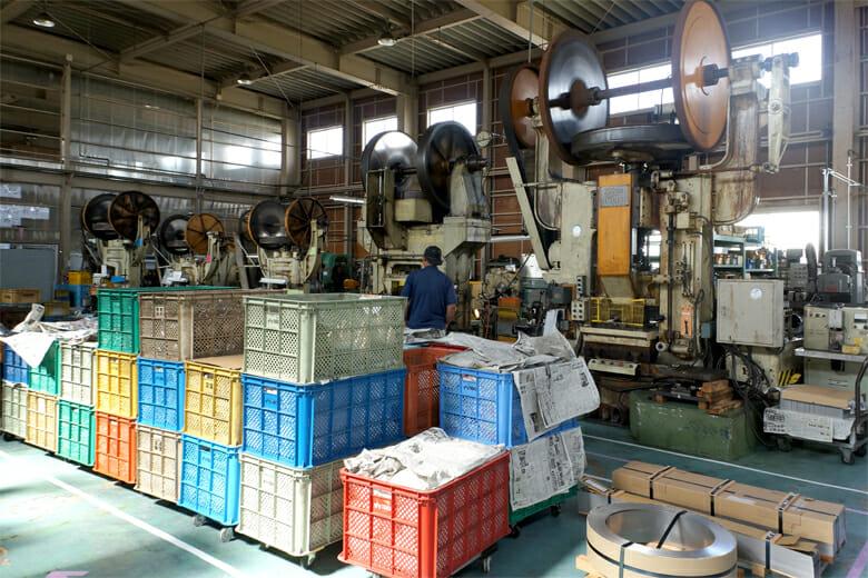 昨年開催時の大泉物産、工場の様子