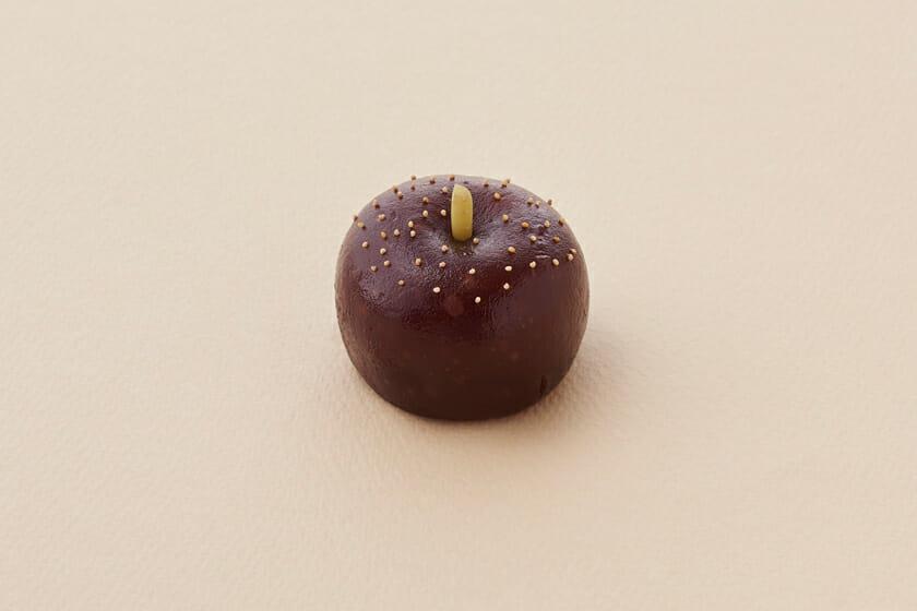 水羊羹製-黒梨