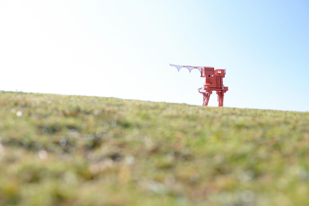 向井良吉《蟻の城》(photo:yamamoto yousuke)