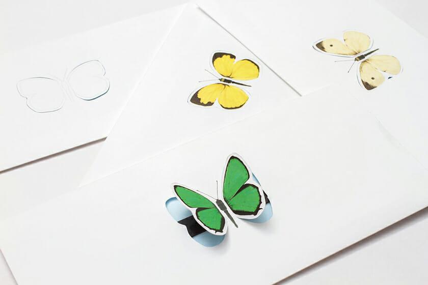 butterfly-letter