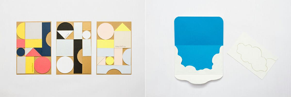 (左)三星安澄 賞:building letters/金森陽子、(右)山田明良 賞:雲のもと/松山美欧・林 千鶴