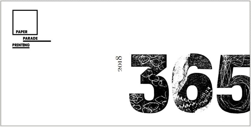 紙活字®日めくりカレンダー トークイベント