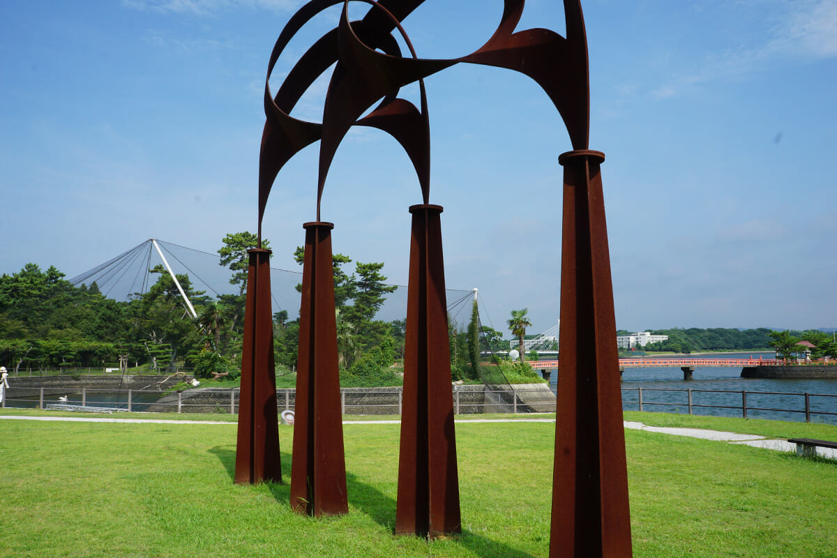 杜 / 永廣隆次(第14回現代日本彫刻展 1991年)