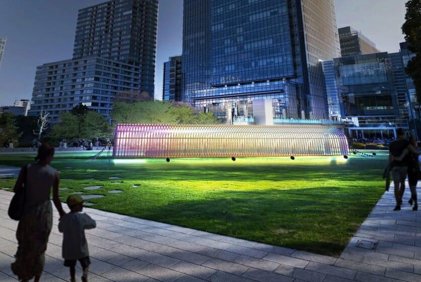 「ふれる」をテーマに、「Tokyo Midtown DESIGN TOUCH 2017」が10月13日から24日間開催