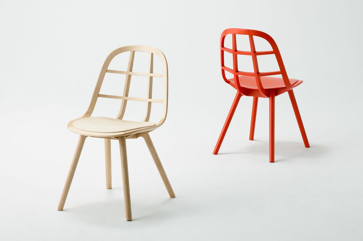 「MEETEE」が手がける、組み木構造の印象的な椅子「Nadia」。一度見たら忘れない、木造船を想起させるような家具シリーズ