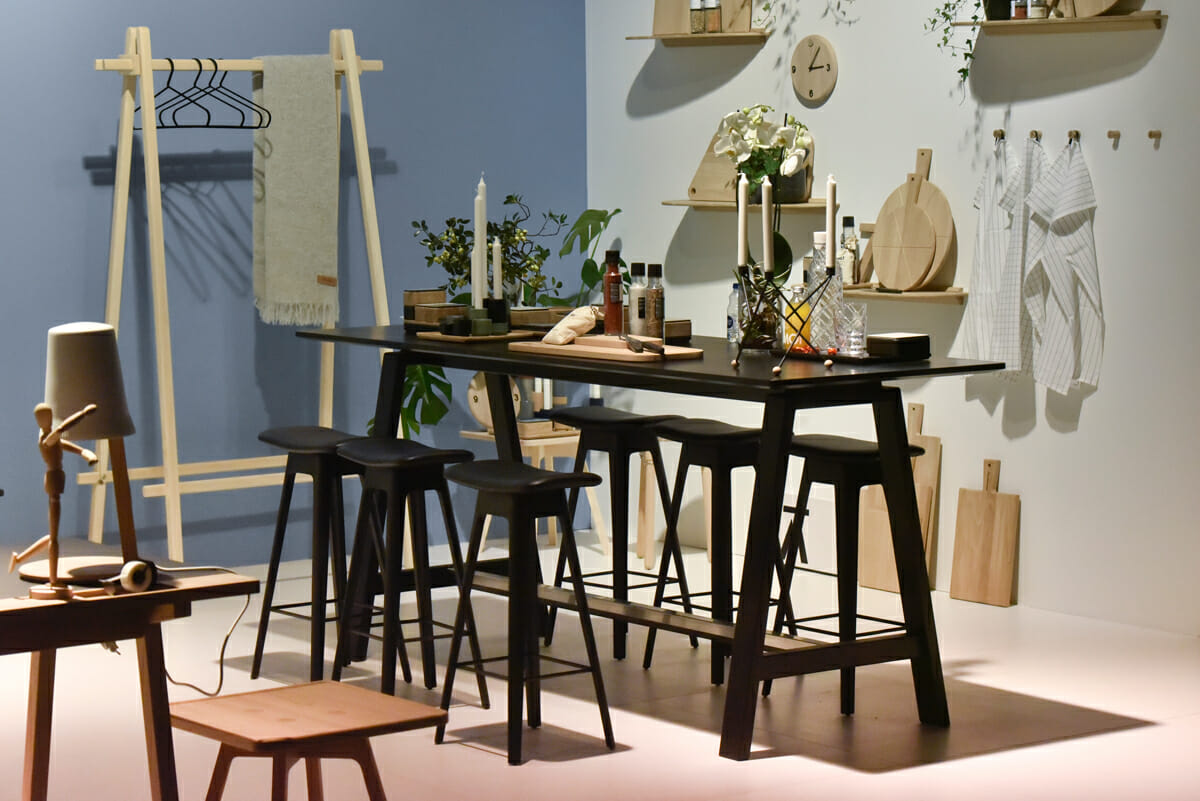 Pure Editions, Stand: Andersen, Halle