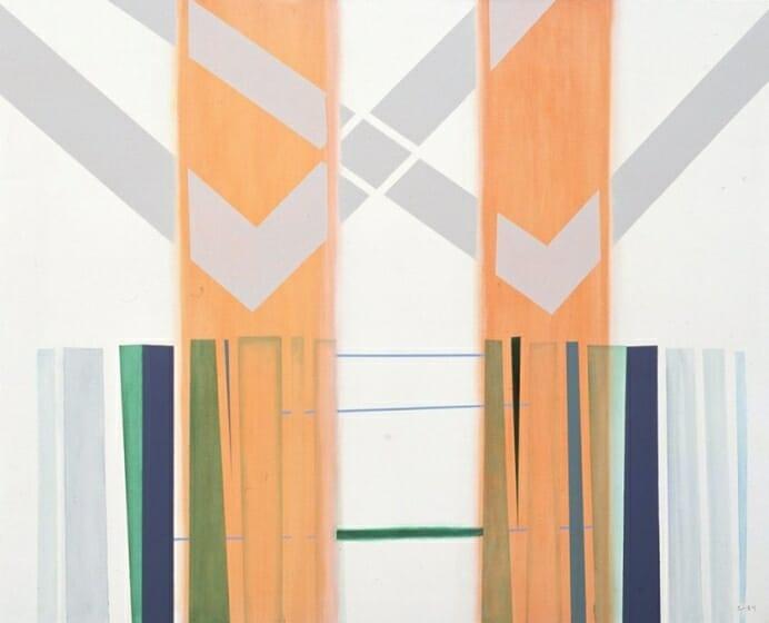 《Painting No.2993》1993年 世田谷美術館蔵