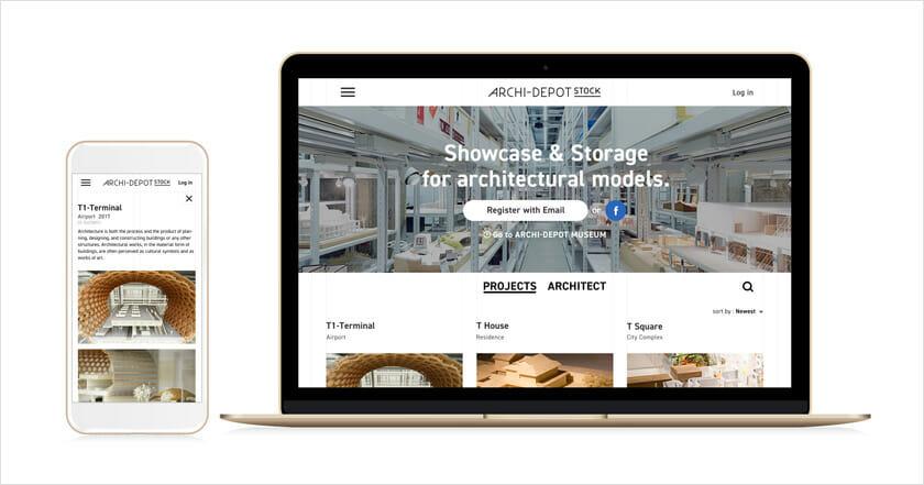「建築倉庫ミュージアム」を運営する寺田倉庫による、建築模型専用クラウド保管サービス「ARCHI-DEPOT STOCK」がスタート