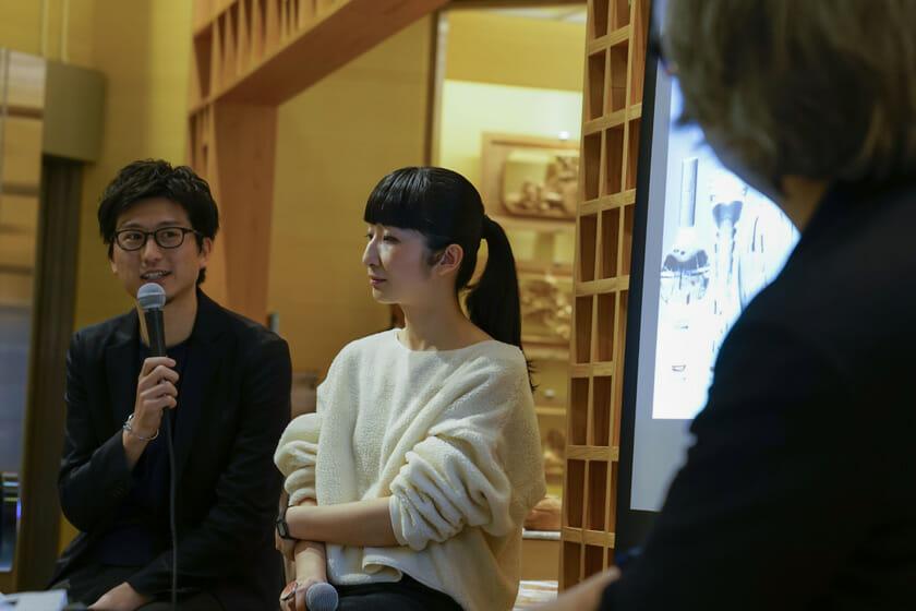 吉泉聡さんと秋山かおりさんをゲストに迎え、日本橋とやま館でミュージアムナイトも開催