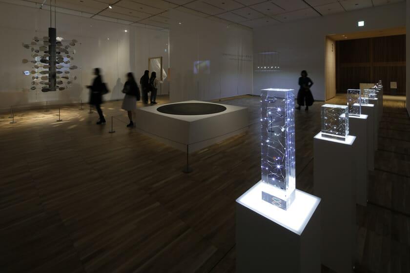 「素材と対話するアートとデザイン」インスタレーションコーナー