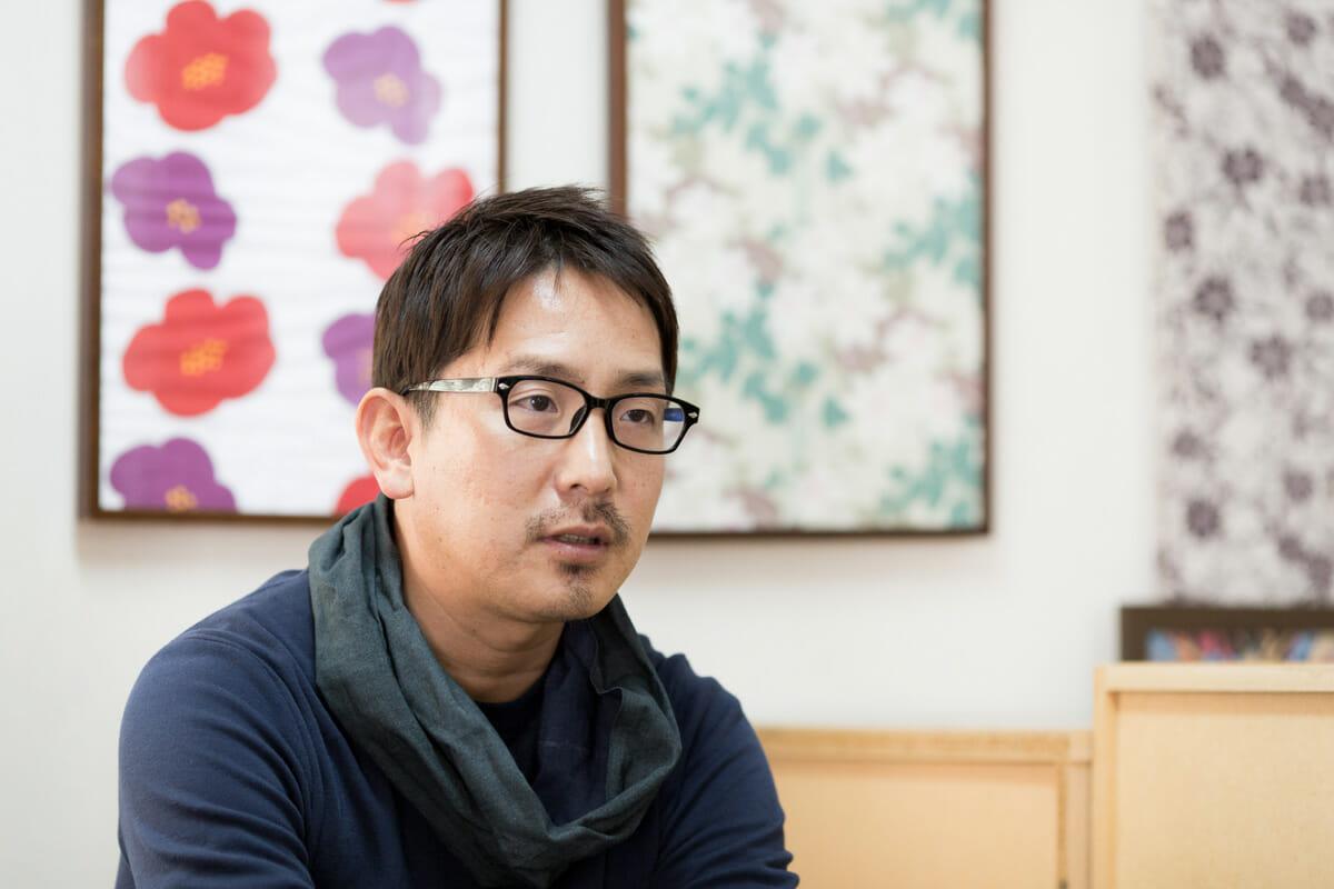 竹野染工株式会社 代表取締役・寺田尚志さん