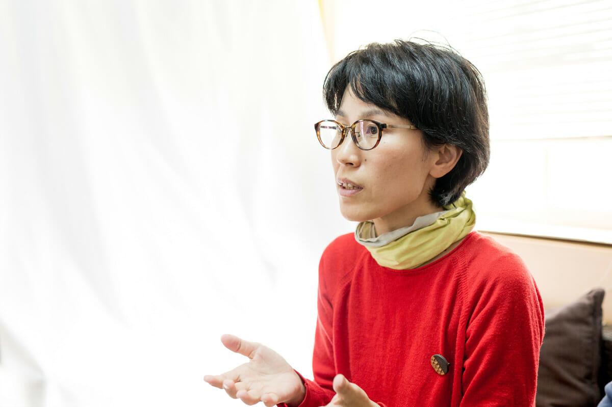 ブランディングを担当した、株式会社ビアンカ・神崎恵美子さん