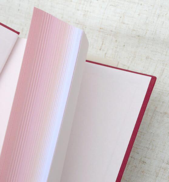 B6判 丸背上製 さくら咲くノート