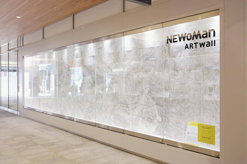 展示場所:ニュウマン新宿 2F JR ミライナタワー改札横