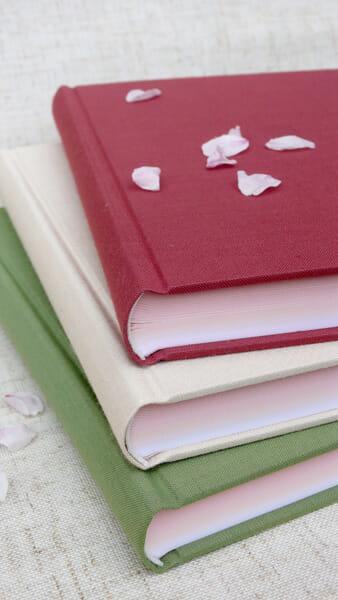 「B6判 丸背上製 さくら咲くノート」
