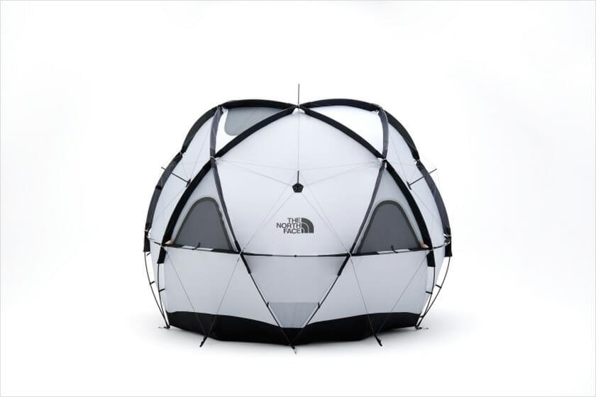 設営が容易で居住性に優れた新型ドームテント、「ザ・ノース・フェイス Geodome 4」が3月中旬に発売