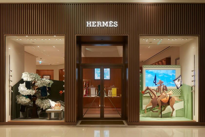 Hermès Taiwan 2017 Special Window Display