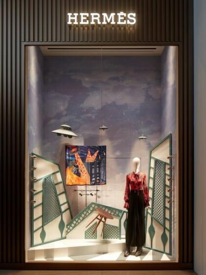 Hermès Taiwan 2017 Special Window Display (5)