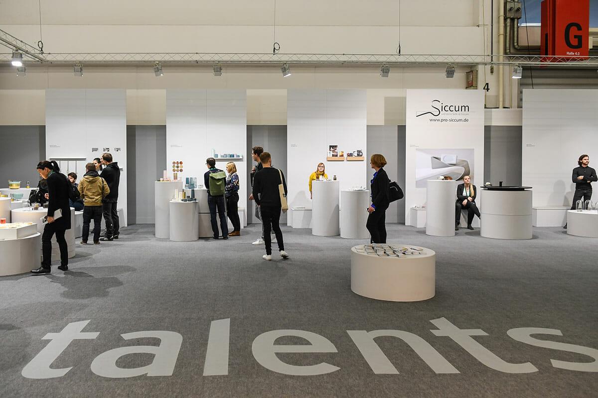 全世界から有望なデザイナーが集まる「talents」もアンビエンテに欠かせない存在、Messe Frankfurt Exhibition GmbH / Pietro Sutera