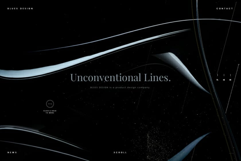 「BLUES DESIGN」コーポレートサイト