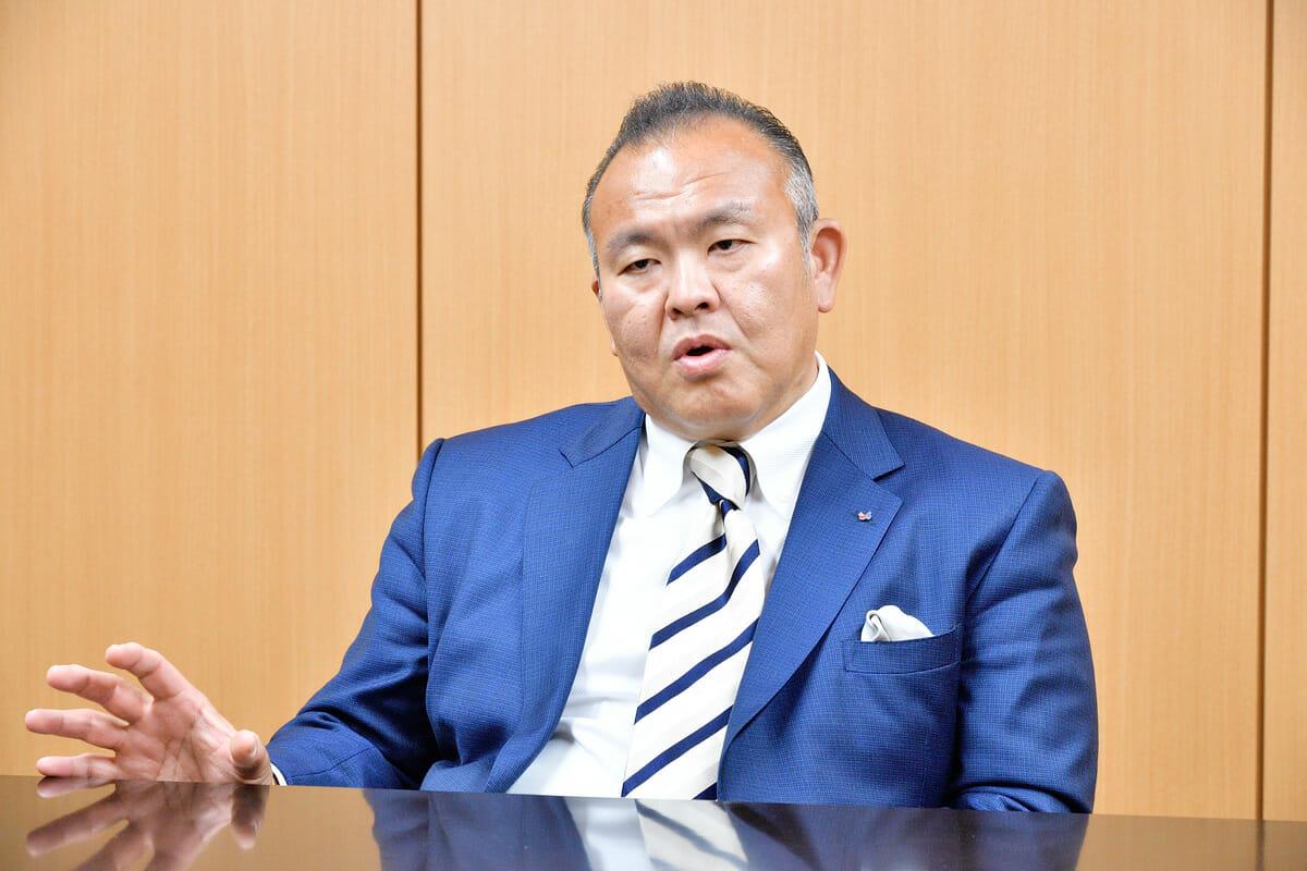 シヤチハタ株式会社代表取締役社長・舟橋正剛さん