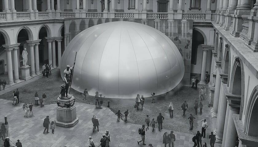 創業100周年のパナソニックが「TRANSITIONS」をテーマに、空調・映像・音響・照明技術をかけ合わせたインスタレーションをミラノデザインウィークに展示