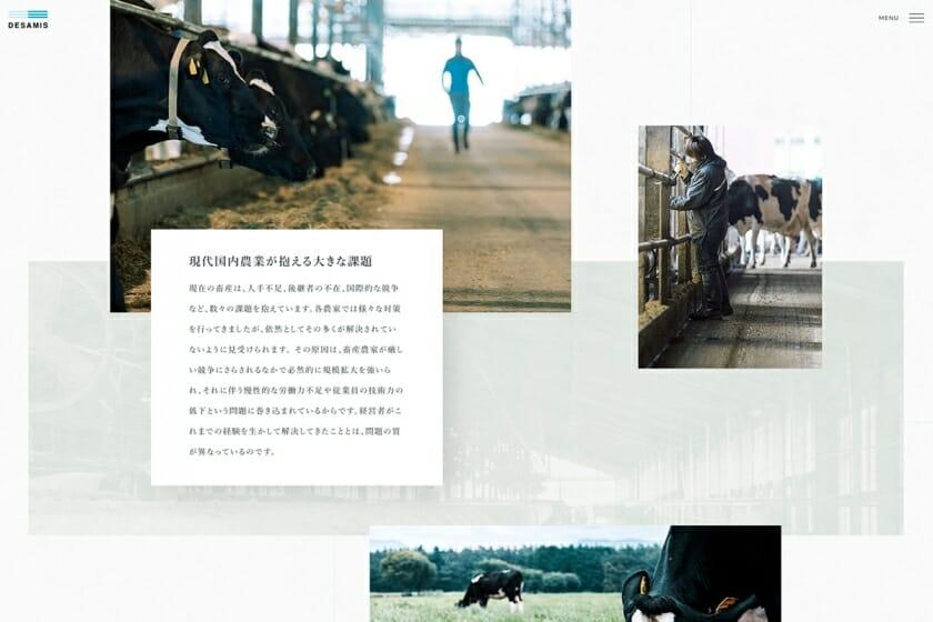 「デザミス株式会社」コーポレートサイト (4)