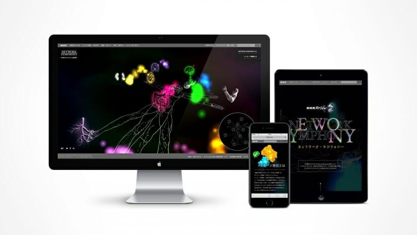 「人体 NETWORK SYMPHONY」インスタレーション (7)