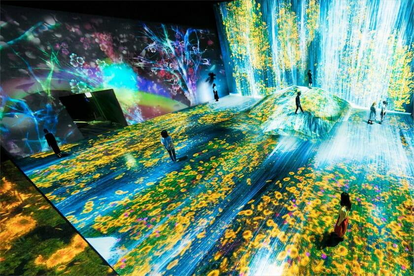 森ビルとチームラボによる、世界初のデジタルアートミュージアム「MORI Building DIGITAL ART MUSEUM: EPSON teamLab Borderless」が6月21日開業
