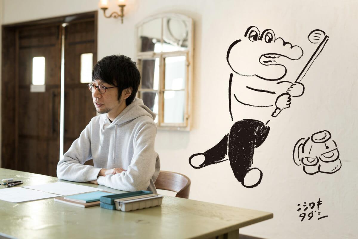 「なんともいえないけどグッとくる」感で魅了する、イラストレーター・ニシワキタダシのユーモラスなお仕事