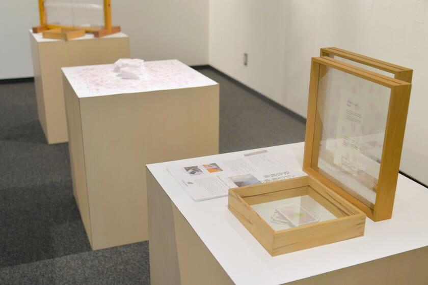 平和紙業展示風景