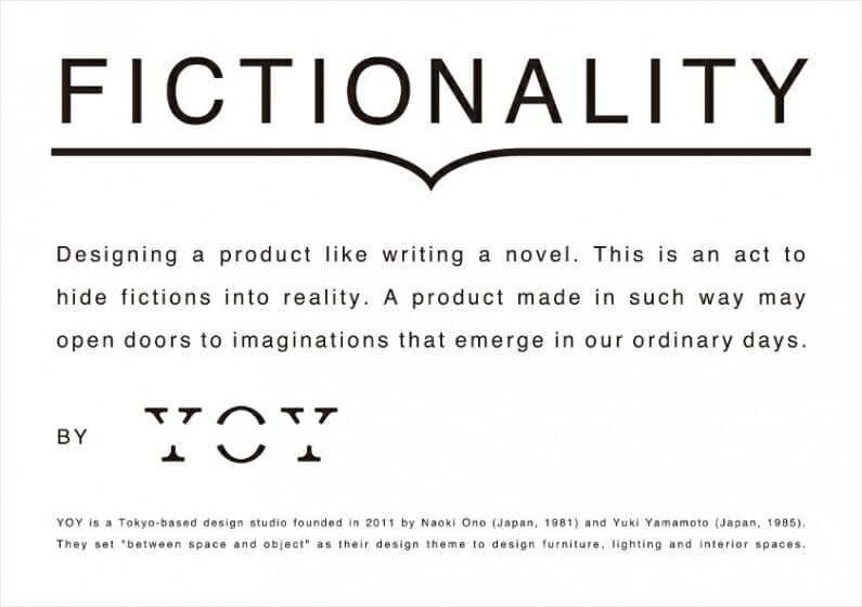 デザインスタジオ「YOY」がミラノデザインウィークに7年連続・7回目の出展、コラボ作品など5つのプロジェクトを展示・発表